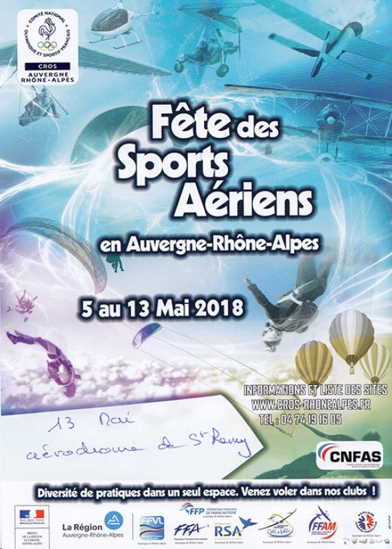 affiche fetes sports aeriens 2018